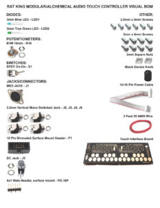 Alchemical Audio Touch Controller