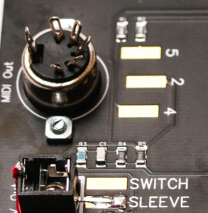 AA Touch Controller DIN MIDI JACK