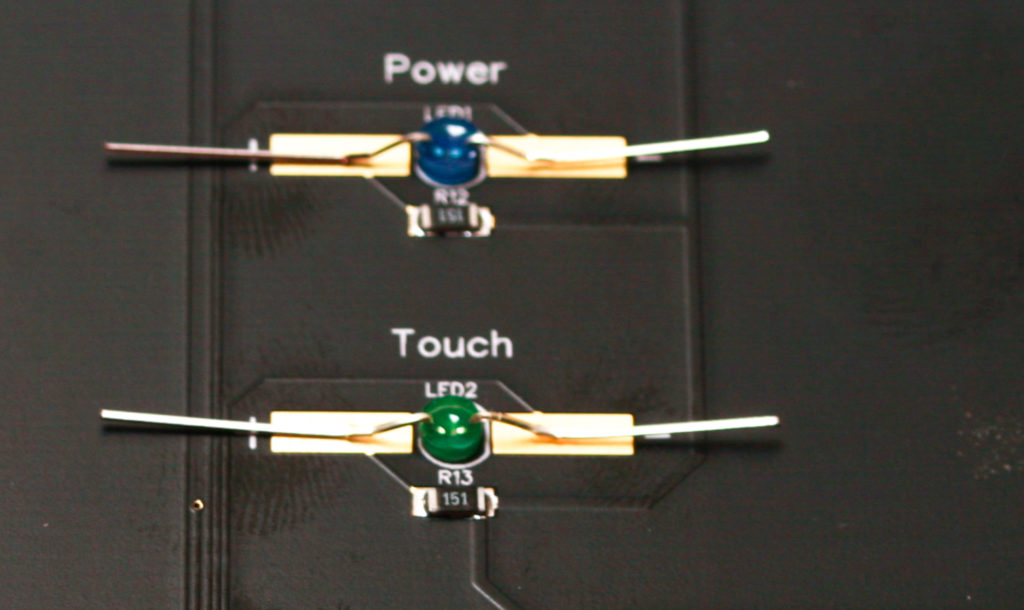 AA Touch Controller LED's