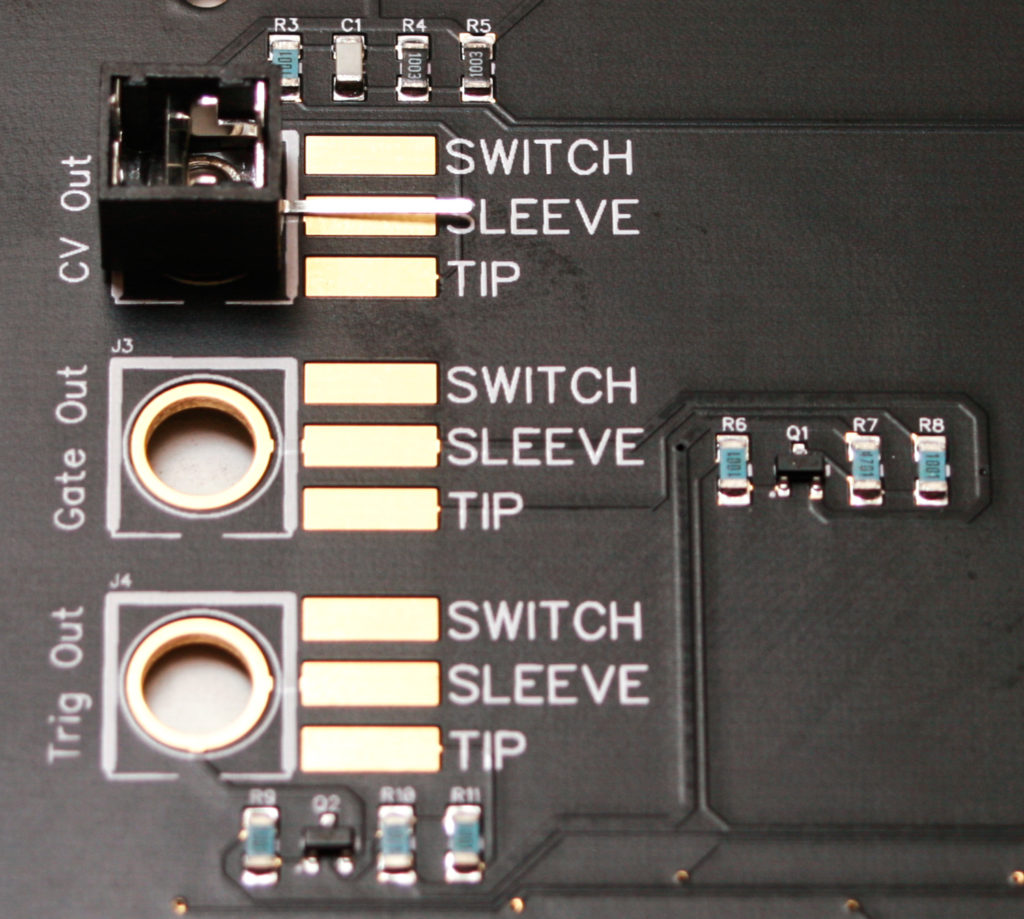 AA Touch Controller Jack Placement