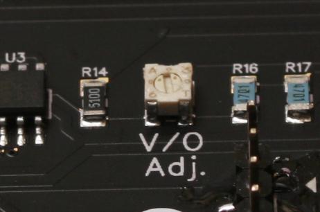 Voltage-Octave-Adjustment