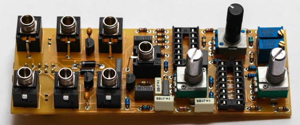 TONE - Potentiometers